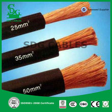 450/750v rubber insulated 70mm2 copper welding cable