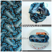 best selling magic scarf/seamless tube headwear/high quality cotton bandana