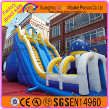 2016 hot sale new design high quality gaint Inflatable Slide in amusement park