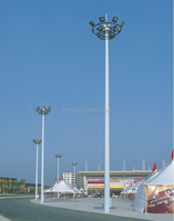 15M~30M outdoor plaza high mast flood lighting worked in flootball field/airport led light