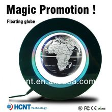 New Invention ! Maglev floating Globe for Promotion Gift ! logo projector flashlight