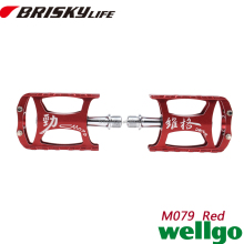 High quality anodized aluminium electric bike pedals with low price