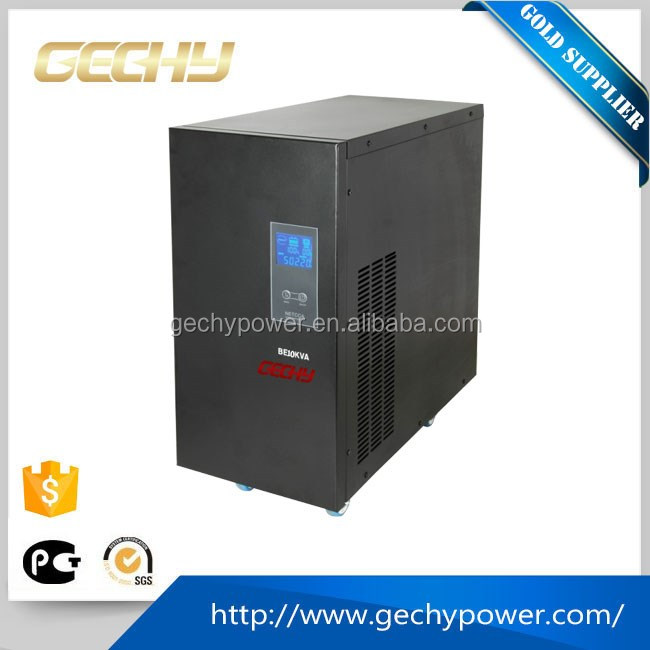 10KVA high capacity On-line Type pure sine wave LCD Uninterrupted Power Supply/ups with 96vdc bettery inverter