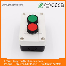 Power Push botton Switch On-off With Green And Red Button Switch Box 16A