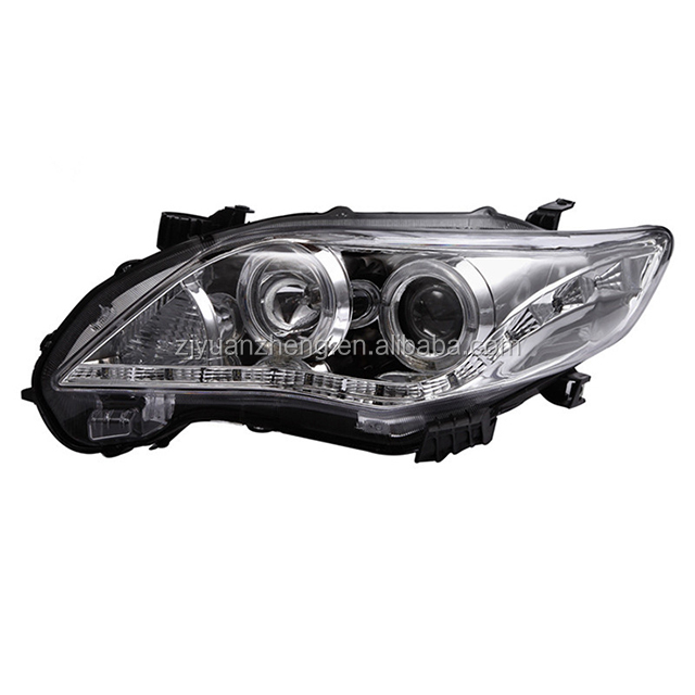Car accessory ABS 12V <strong>auto</strong> modified FOR Corolla led Headlamp 2011 2012 2013