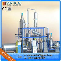 Used Motor Oil Distillation Machine Recycling Machine To Diesel Petroleum Refinery For Sale