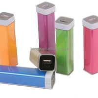 ABS Body Portable Battery Charger 2600mah