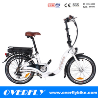 aluminum alloy women folding bike lowrider bicycle ebike