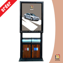 poster frame a1 a2 a3 a4 outdoor led digital sign board rolling advertising board advertising trash bin light box