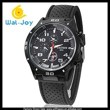 cheap factory direct vogue best selling high popularity men silicon quartz Weijieer watch(WJ-3052)