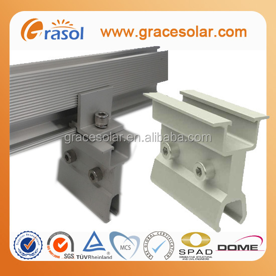 Hot sale Solar Panels Bracket Accessories Standing Seam Roof Hook