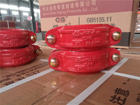 88.9 Rigid coupling, FM and UL approved ,Ductile cast iron grooved coupling and fitting