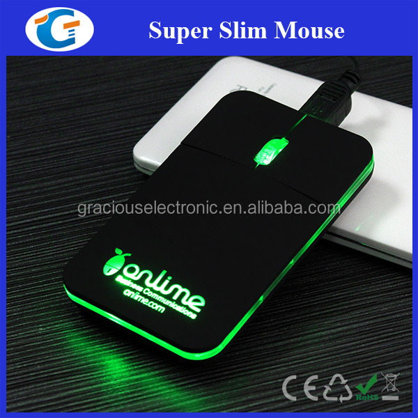 Computer hardware optical mini mouse with retractable usb cable