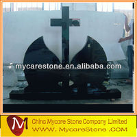 China shanxi black tombstone and monuments child headstone