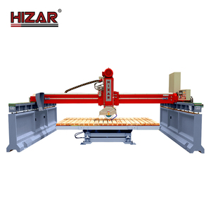 HIZAR HQQ600P CNC system automatic granite marble stone cutting machine with low price