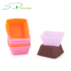 Reusable Kitchen Bakeware Baking Pastry Tools Silicone Cake Muffin Chocolate mold