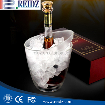 Wine holds Plastic led ice bucket led ice bucket cooler