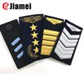 Custom military shoulder sew on embroidery epaulet