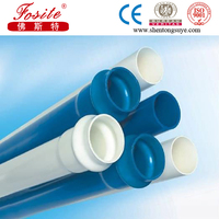 large diameter slotted pvc pipe