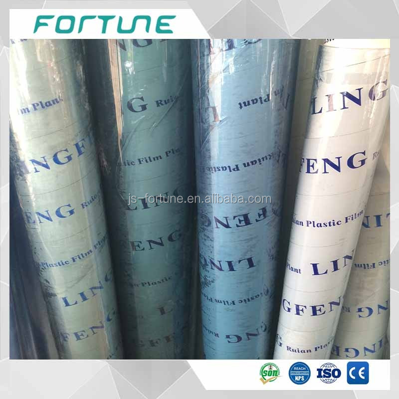 Vinyl PVC Film Super Clear Transparent Roll for Tablecloth or Packing Material