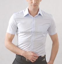 OEM classic summer short sleeve shirt big size for men light blue, blue, black cotton 100%