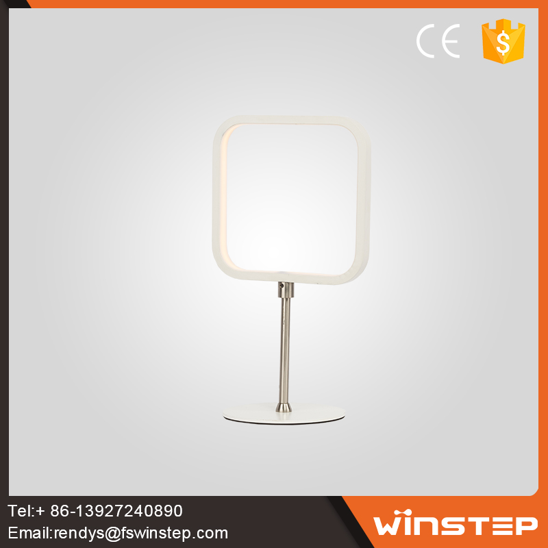 Restaurant fashionable aluminium 10W <strong>led</strong> square fancy table lamp