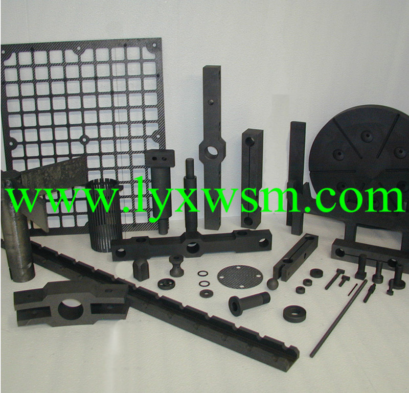 Refractory graphite parts