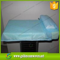 100% virgin pp non woven sms fabric for sms surgical gowns/sms nonwoven medical fabric for hospital bed sheet, face mask