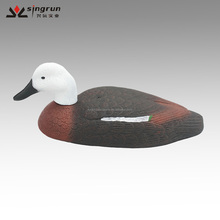 Wholesale White Head Duck Decoys Paradise half body/Shell Duck Decoys for Duck Hunting