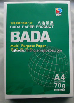 Selling high quality copy paper a4 70g