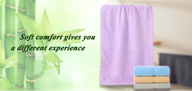 wholesale woven cool 100% bamboo fibre plain color  hair towels for adults