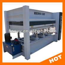 Hydraulic 120T wooden door furniture hot press machine