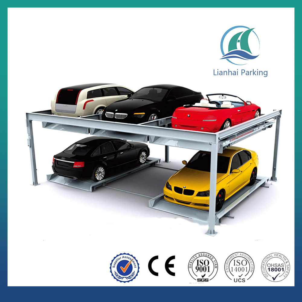 automated smart car lifting mechanical puzzle car parking lift/ multi-level for parking