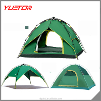 Yuetor Brand Umbrella Automatic Camping Tent For 3-4 Person In Stock
