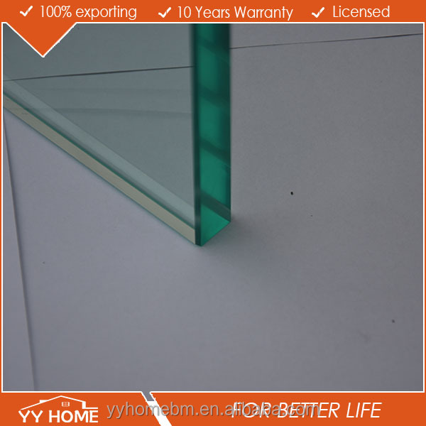 15mm ultra clear float tempered glass