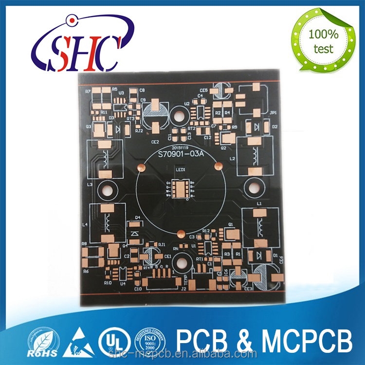 Custom Printed Circuit Board BGA Board Copper Base Lead PCb Board, PCB Manufacturer