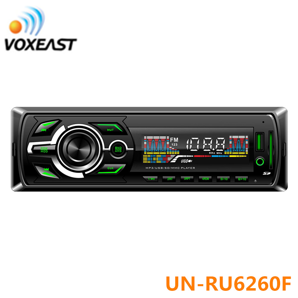 12V Bluetooth Car Stereo FM Radio Unit Player 1Din MP3/USB/SD/AUX+Remote