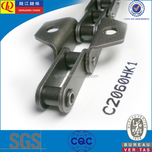 double pitch stainless steel conveyor chain transmission stainless steel chain C2060HO-K1