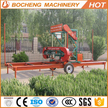 Portable Saw Mills Trees Saw Machine Electric / Diesel Engine