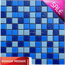 Best quality water park swimming pool glass mosaic tiles