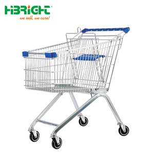 good price metal supermarket wagon super market carriage hypermarket buggy grocery retail trundler shopping trolley cart