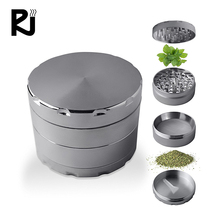 China wholesale OEM Customer logo 4 piece tobacco herb grinder