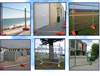 Trade Assurance temporary pool fence/temporary fence stands concrete/galvanized temporary fence