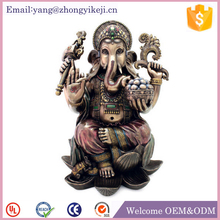 Polyresin Murti new ganpati decor gold ganesh murti