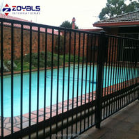 High Quality Cheap Flat Top Pool Fence For Safety