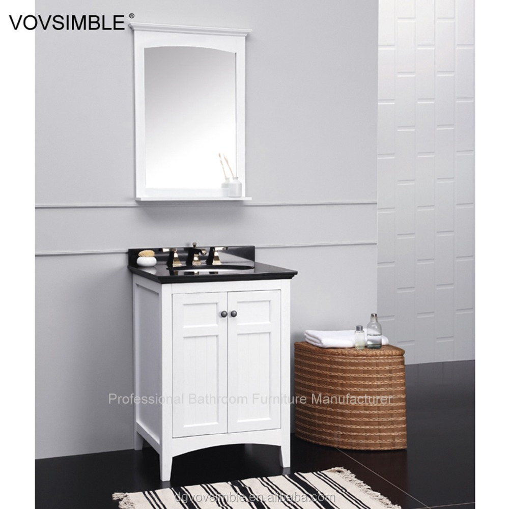 Wooden solid wood bathroom furniture cabinet bathroom mirror cabinet floor standing bathroom Solid wood bathroom vanities cabinets