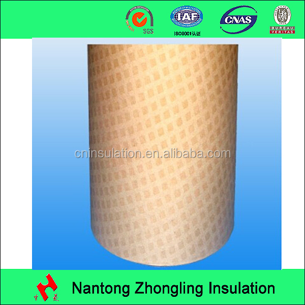 High quality-electrical resin coated insulation diamond pattern paper(DDP)