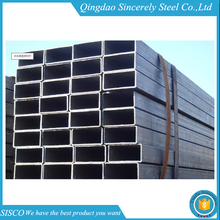 black steel rectangular pipe for furniture