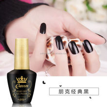 Factory price chujie color uv gel polish 15ml Soak Off UV LED Gel Nail Polish