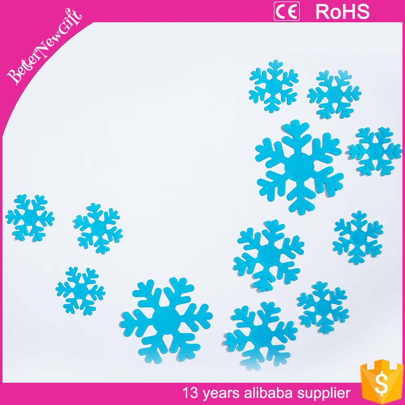 Christmas wall hangings 3d paper snow flake christmas decoration